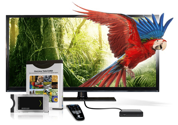 OnLime TeleCARD цифровое телевидение